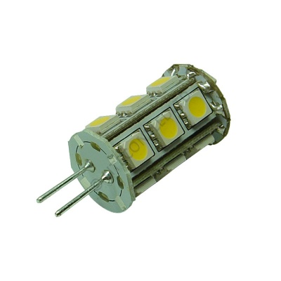 G4 18SMD 10-30 Vdc Tower 3.6W Warm White LED Bulb