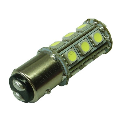 BAY15D 18SMD 10-30V DC Tower 3.6W Cool White LED Bulb
