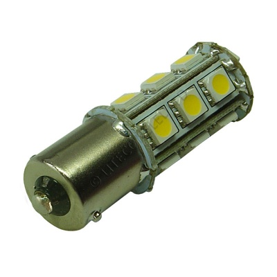 BA15S 18SMD 10-30V DC Tower 3.6W Warm White LED Bulb