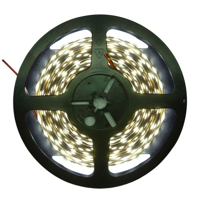 12V DC 4.8W / Metre 3528 IP20 Cool White LED Flex Strip