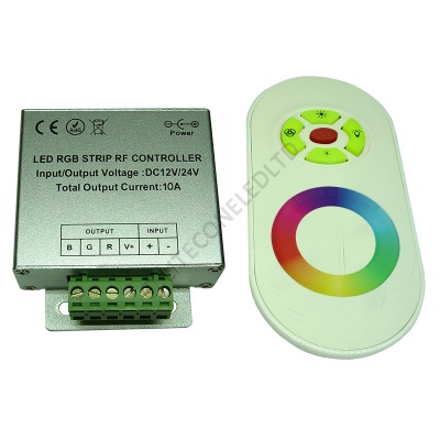 RF Wireless Touch RGB Rainbow Controller