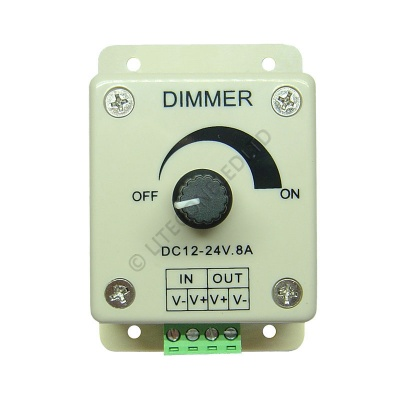 Manual Dimmer with Rotary Dial