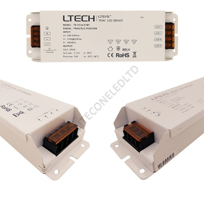 24V DC 75W (3.12A) Constant Voltage Triac Dimmable LED Driver