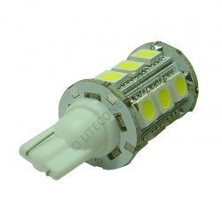 T10 18SMD 10-30 Vdc 3.6W Cool White LED Bulb