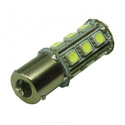 BA15S 18SMD 10-30V DC Tower 3.6W Cool White LED Bulb