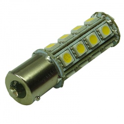 BA15S 23SMD 10-30V DC Tower 4.6W Warm White LED Bulb