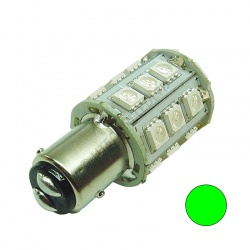 BAY15D 24SMD 10-30V DC Tower 2.5W Green