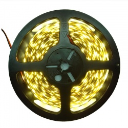 12V DC 4.8W / Metre 3528 IP20 Warm White LED Flex Strip