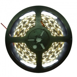 12V DC 14.4W / Metre 5050 IP20 Cool White LED Flex Strip