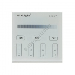 Wall Mount T1 MiLight 2.4Ghz 4 Zone Dimmer Controller